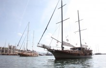 Gulet 'Sher-M' in Bodrum Marina